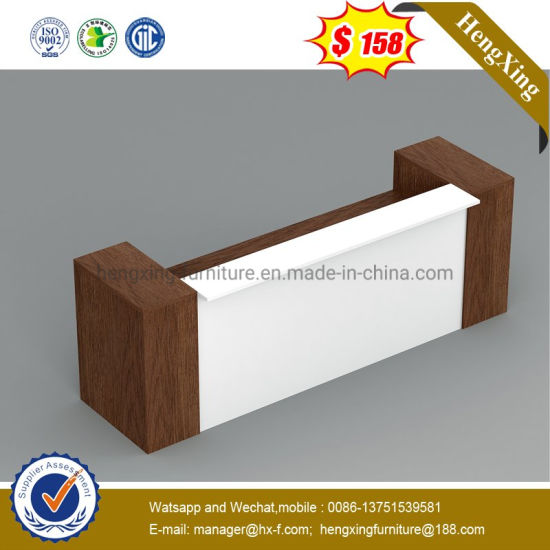 Big Size OEM Wooden Melamine Bank Office School Reception Desk pictures & photos