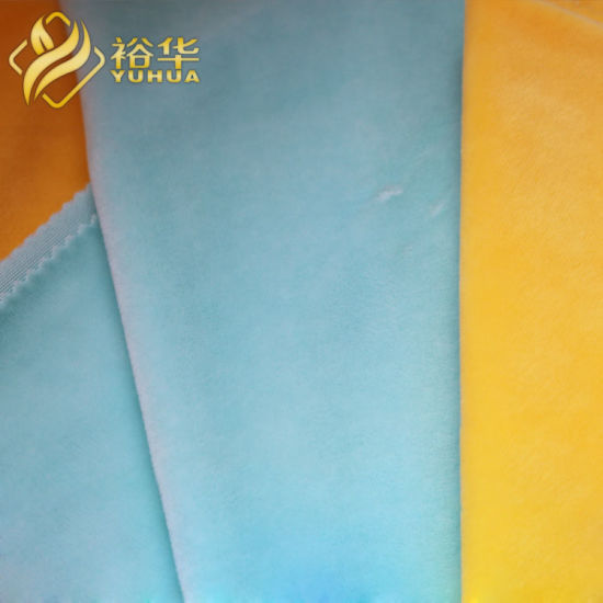 Factory Direct Outlets Sell 1mm Pile Height Super Soft Fabric for Toy