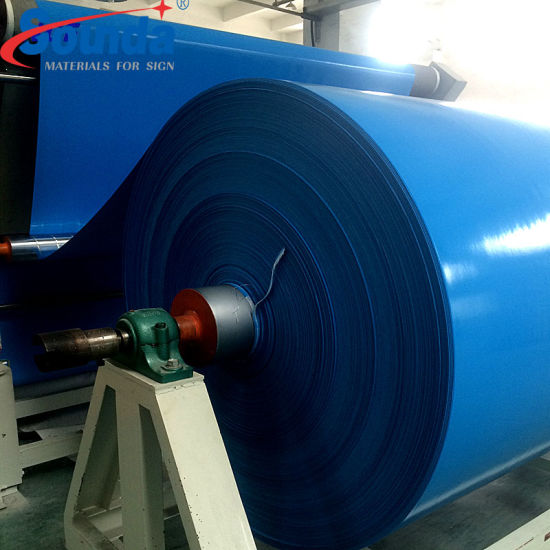 Sounda PVC Coated Tarpaulin in Roll for Truck Cover and Digital Printing Materials