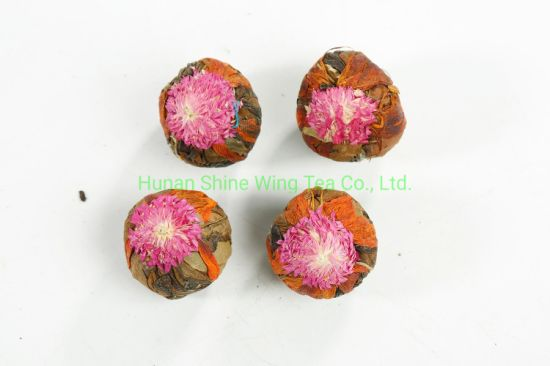 Organic Oolong Tea Blooming Tea Ball Flower