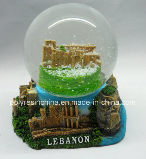 Middle East Tourist Gifts of Polyresin Snow Globe
