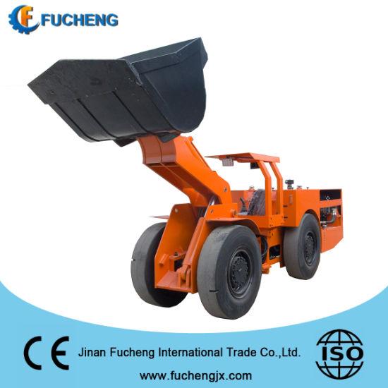 China diesel Hydraulic wheel loader for underground railway