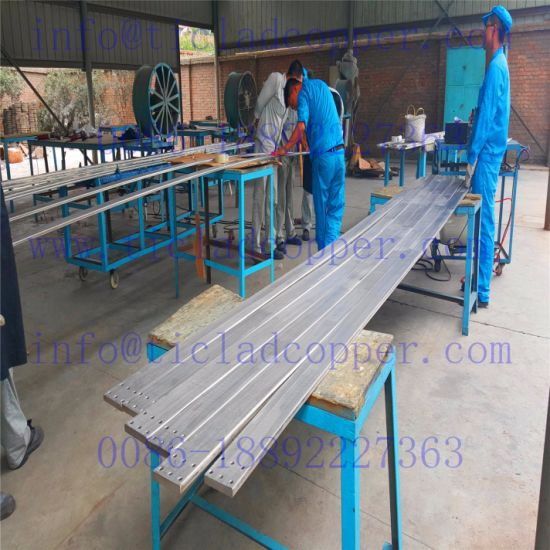 Steel Clad Copper/ Steel Copper Cladding Bar for Chlorine Production pictures & photos