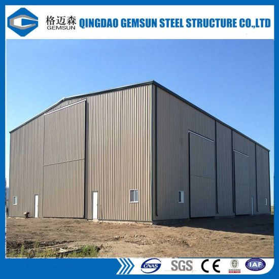 Prefabricated Steel Structure Building Warehouse/Workshop/Shed pictures & photos