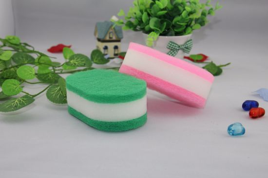 Kitchen Cleaning Sponge Scouring Pad Scourer pictures & photos