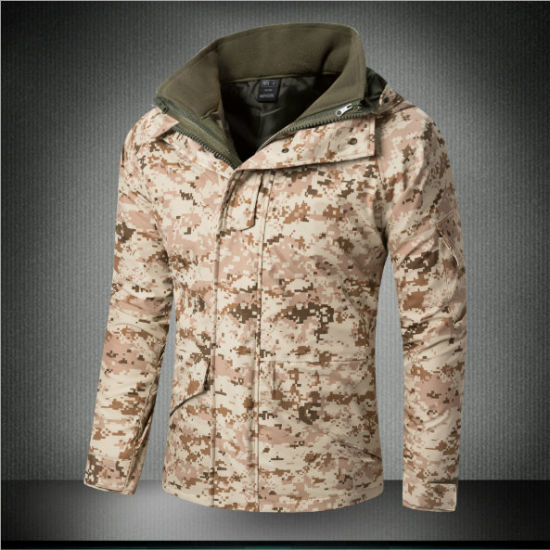 Actical Softshell Camouflage Water Resistant Military Parka Ecwcs pictures & photos