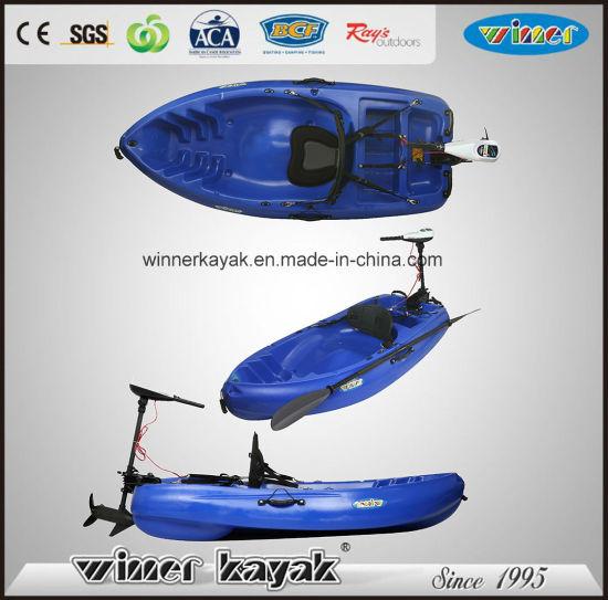 2.00mtr Rider Plastic PE Sit on Top Fishing Kayak with Motor