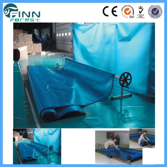 Swimming Pool Building Accessories PE Plastic Pool Cover pictures & photos