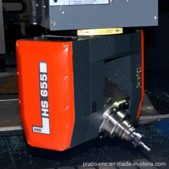 CNC 5-Axis with Moving Beam Milling Aluminum Processing Machine pictures & photos
