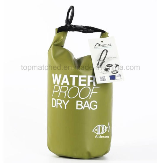 20559ab9c6 Ultralight Outdoor Travel Waterproof Dry Bag Portable Hiking River Rafting  Swimming Small 2L Dry Bags