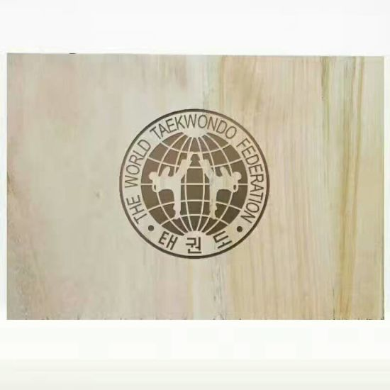 Taekwondo training Poomsae Forcus Target Kicking Pad Wood Board pictures & photos