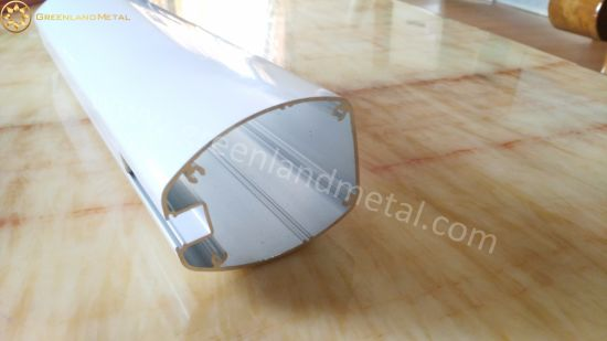 Head Tube for Auto Curtain Track in Aluminium Profile pictures & photos