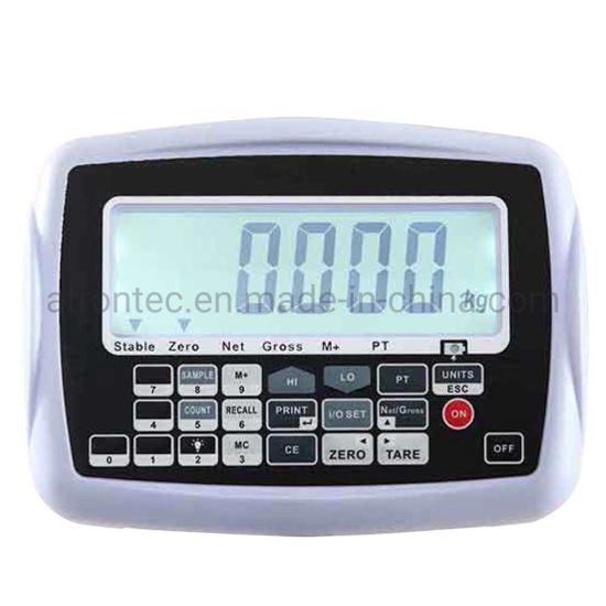 Large LCD Display Multi-Functional Weighing Scale Indicator