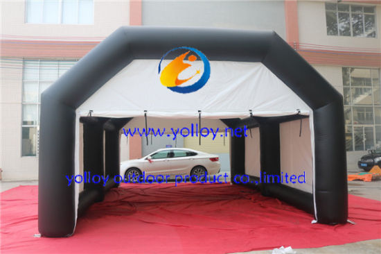 Outdoor Mobile Inflatable Paint Booth Inflatable Spray Booth