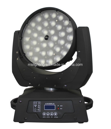 54X10W RGBW 4in1 LED Wash Moving Head Zoom Light
