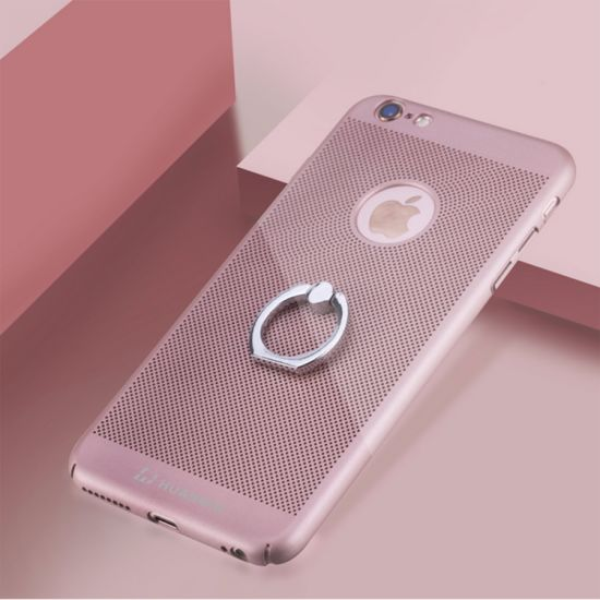 Wholesale High Quality Heat Dissipation PC Case with Ring Holder for iPhone 7