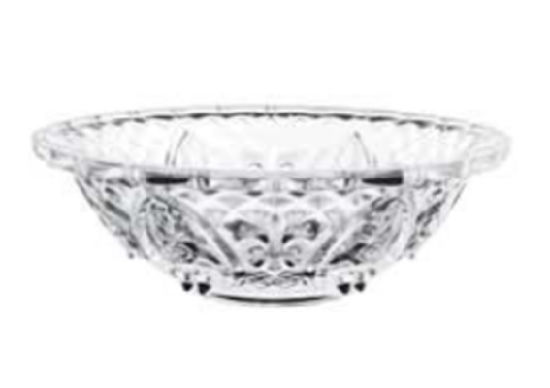 Wholesale Crystal Clear Large Glass Salad Fruit Bowl