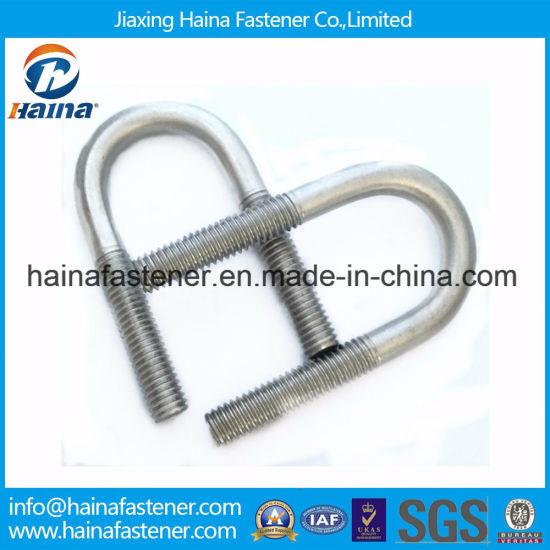 China Stainless Steel / Galvanized Steel L Bolt, J Bolt, U
