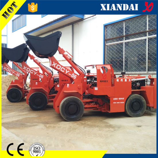 Xdcy-06 0.6cbm 1.2ton Underground Scooptram LHD Mucking Loader pictures & photos