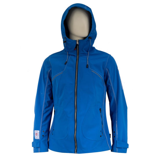 Outdoor Sportwear Waterproof and Breathable TPU Softshell Jacket
