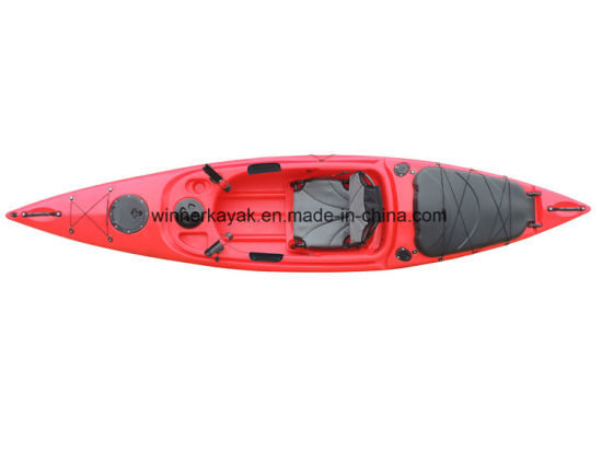 Large Room One Person Sit in Not-Inflatable Fishing Kayak pictures & photos