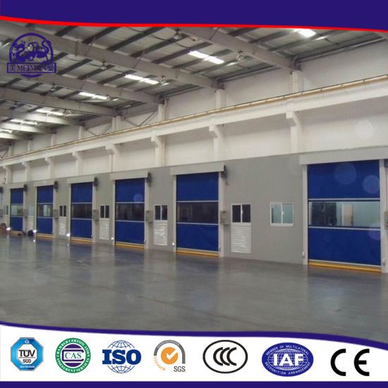 Hot Sale Factory Price Reveal The Grade Appearance Rolling Shutter Strong PVC Door pictures & photos