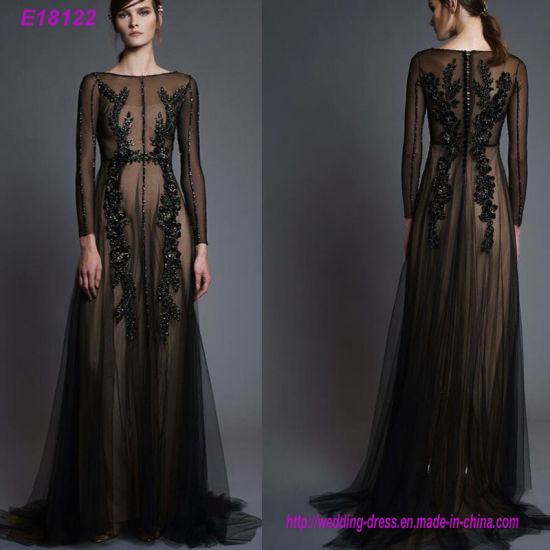 Fashion Handmade Sexy Chiffon Women's Evening Dress