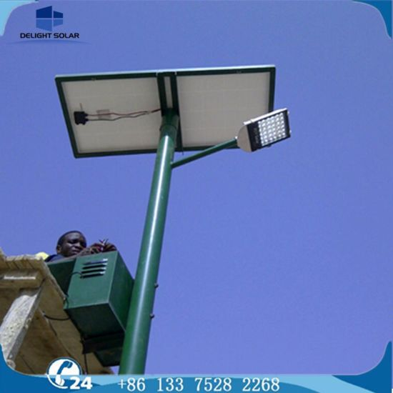 High Brightness Residential Home off-Grid Anti-Rust Solar LED Street Lighting pictures & photos