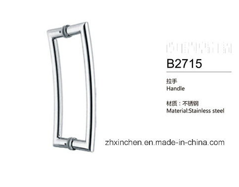 Xc-B2715 Stainless Steel Handle Bathroom Big Size Door Pull Handle pictures & photos