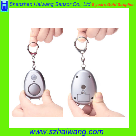 Grenade Style Keychain Pin Alarm Activation Personal Alarm (SA810) pictures & photos