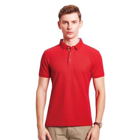 Healong Sublimation Printing Wholesale Polo Design Fashion Casual Clothes Custom Men Polo T Shirt