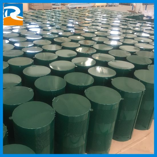Dog Waste Can Powder Coating Factory