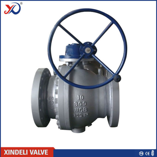 Class 1500 Forged Steel Trunnion Flanged Ball Valve pictures & photos