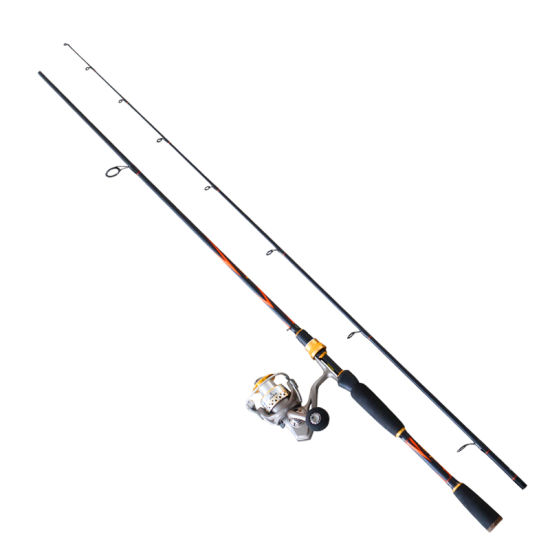 Portable 6'6''/7'0''/8'0'' Im7 Carbon Spinning Fishing Rod and Reel Combo