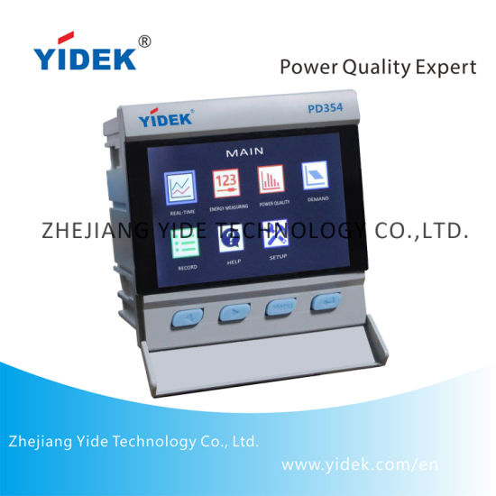 China Yidek Colors Screen 100 560v Power Quality Information Collection Meter China Meter Digital Meter