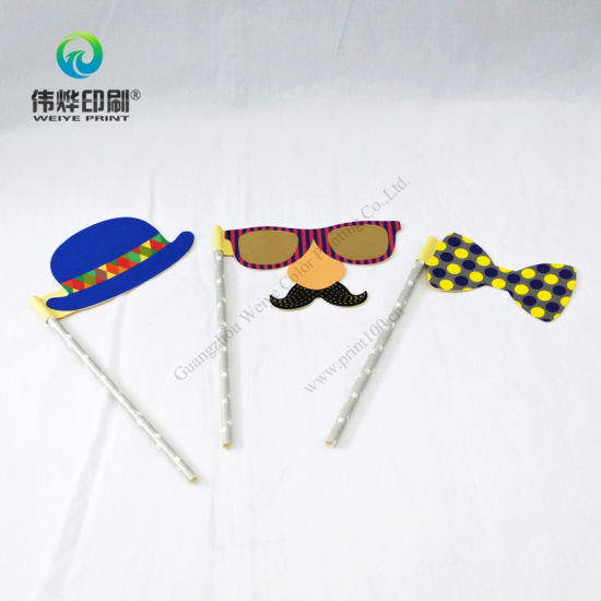 Creative Paper Printing Funny Cartoon Photo Prop (with ball pen) pictures & photos