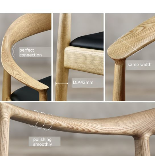 (SD1013) Modern Kennedy Cafe Hotel Furniture Wood Restaurant Dining Chair pictures & photos