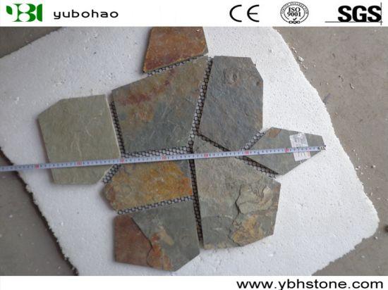 Black Slate/Yellow Wooden Slate/Rusty Slate/Copper Slate/Blue Slate Culture Stone for Wall Cladding