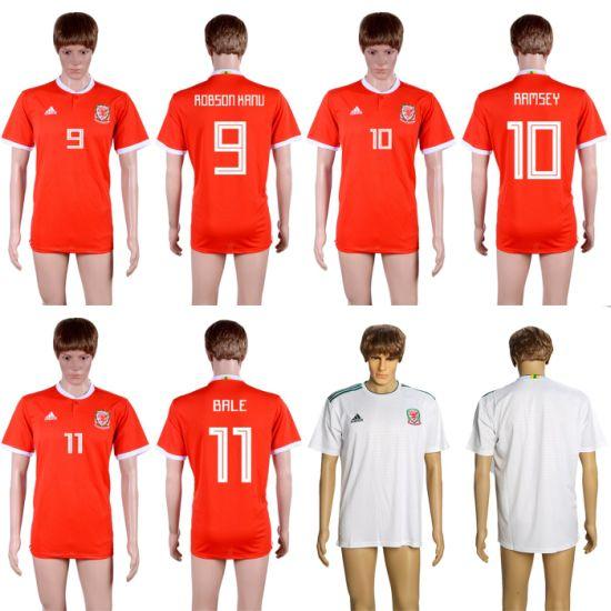 promo code bd242 12070 Wholesale 2019 Wales Aaron Ramsey Gareth Bale Robson-Kanu Soccer Jerseys
