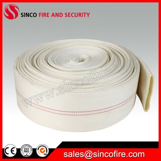 PVC PU Rubber Used Fire Hose with Storz Coupling pictures & photos