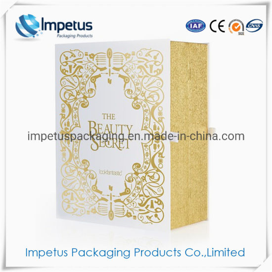 Luxury Custom Printing Advent Calendar Gift Paper Packaging Box for Cosmetic or Chocolate pictures & photos