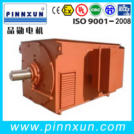 Y- 6kv Squirrel Cage Three-Phase Asynchronous Motor 2500kw pictures & photos