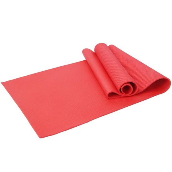 Customized Logo Colorful 4-10mm Thickness PVC Yoga Mat (recyclable)