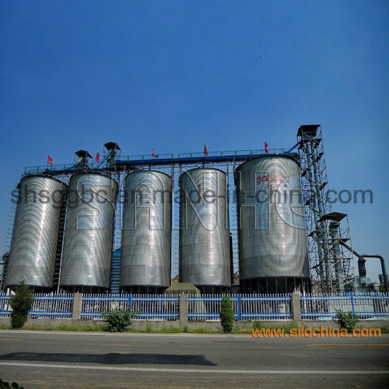 Steel Cone Base Grain Storage Bin