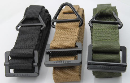 Tactical Army Military Outdoor Sports Belt Canvas Belt Metal Belt
