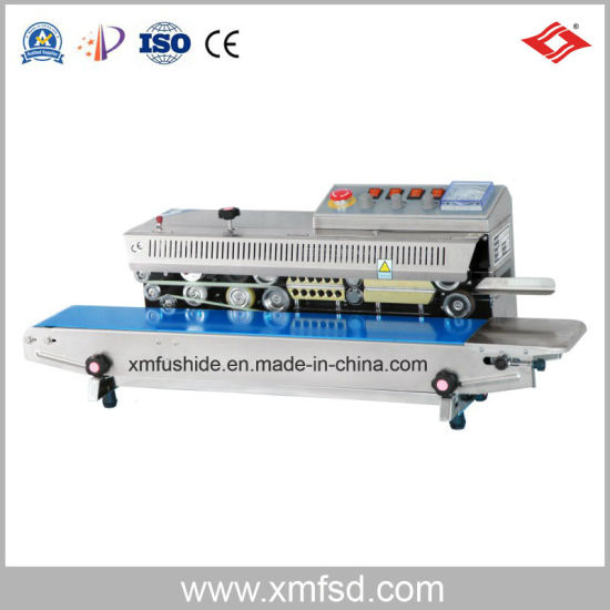 Ink Wheel Color Printing Continuous Automatic Sealing Machine
