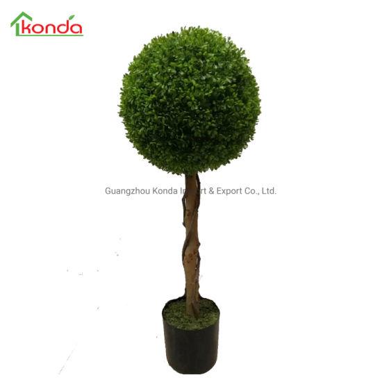 Guangzhou New Style Cheap Grass Ball Artificial Bonsai Plant Tree