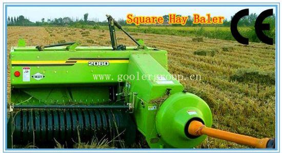 China Square Baler, Hydraulic Square Hay Baler Fk-2060