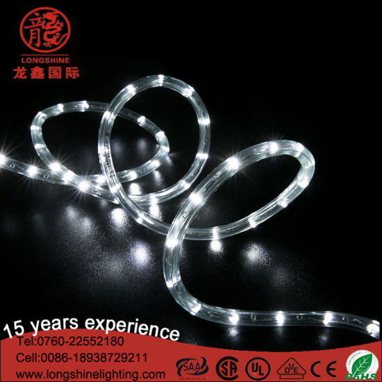 12V Cool White LED Rope Light for Outdoor Chrismtas Decoration pictures & photos