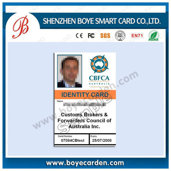 Best China Card - Facebook Price Manufacturer Supply Printing With Card Large Photo Id